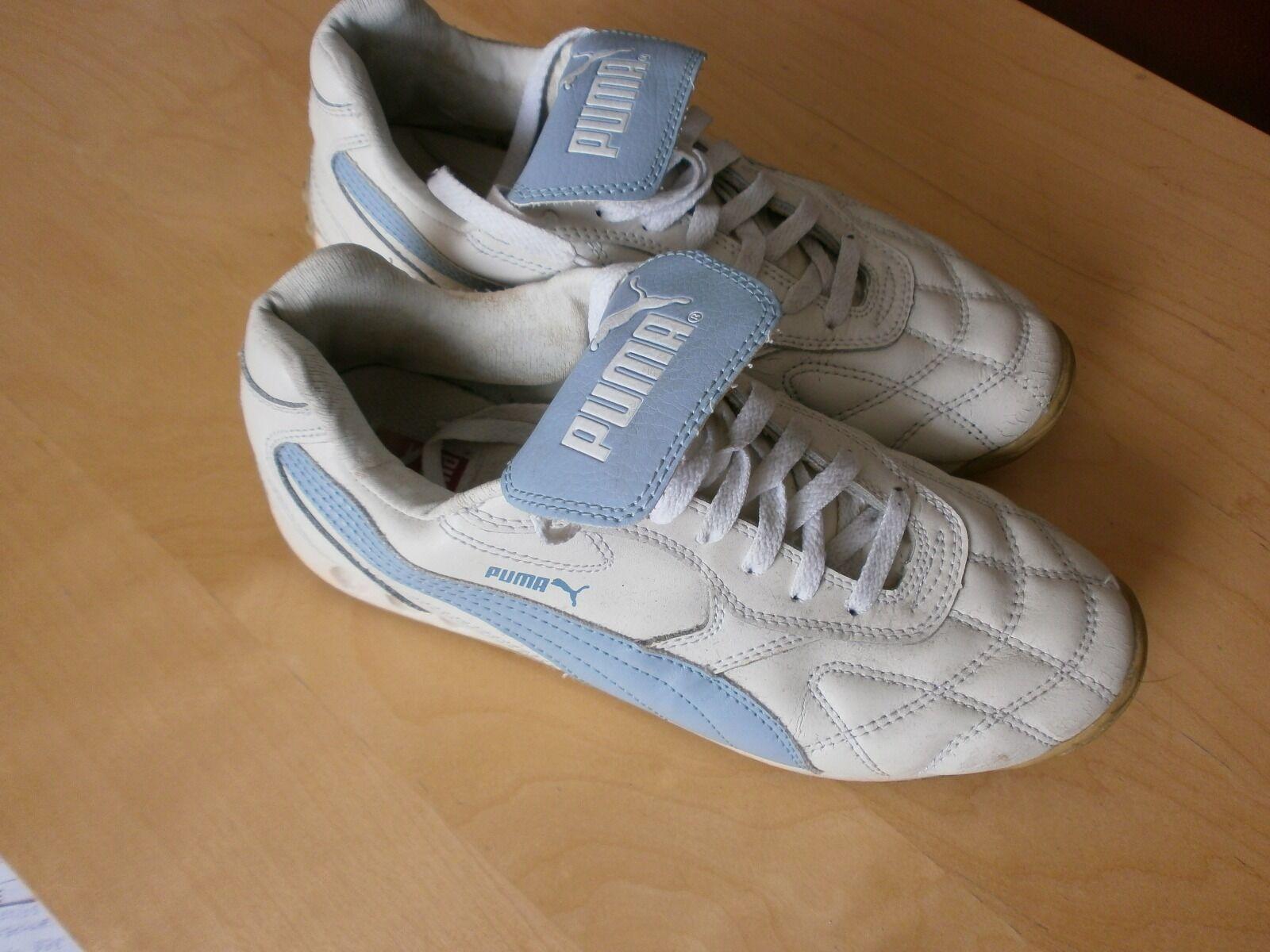 Puma Puma Puma Avanti Lederschuh Sneaker blau/weiß Größe 43 b225ea