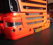 Scania Böser Blick Aufkleber Tamiya Fron Weiß,Schwarz,Rot&Blau Tamiya Truck 1:14