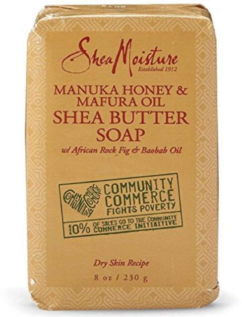 Shea Moisture Manuka Honey - Mafura Oil Shea Butter Soap 8 oz