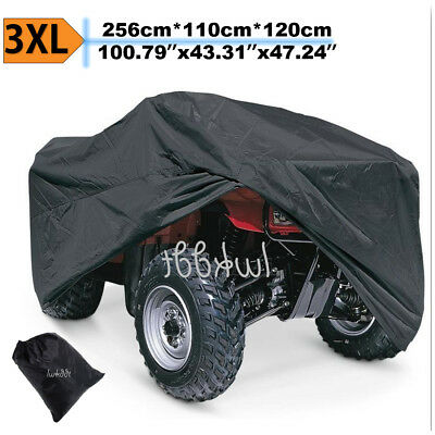 Xxxl 190t Waterproof Atv Cover Universal For Polaris Honda Yamaha Can Am Suzuki Ebay