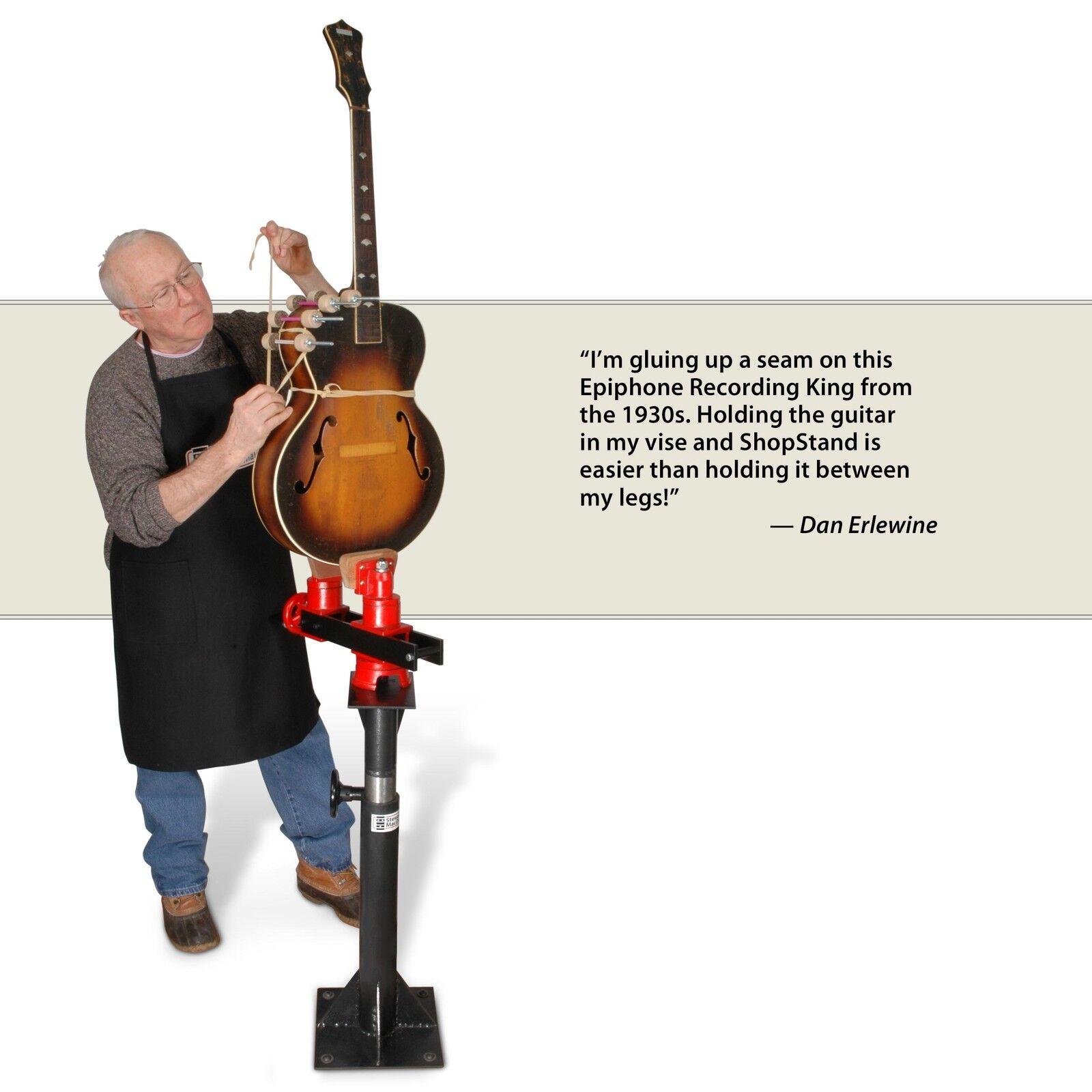 Stewmac Stewmac Stewmac shopstand y Tornillo Conjunto De Reparación De Guitarra 72fb56