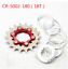 FOURIERS BMX Sprocket Gear 16-23T Bike Bicycle Single Speed Freewheel  /& 6 Bolts