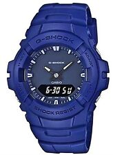 Casio G Shock * G100CU-2A Anti-Magnetic Anadigi Blue Resin COD PayPal #crzycod
