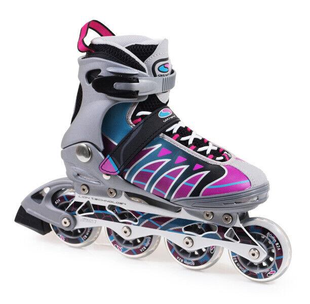 Damen Damen Damen Inliner Fitness Inline Skates ABEC7 MZS101G SMJ Sport 95c9f1