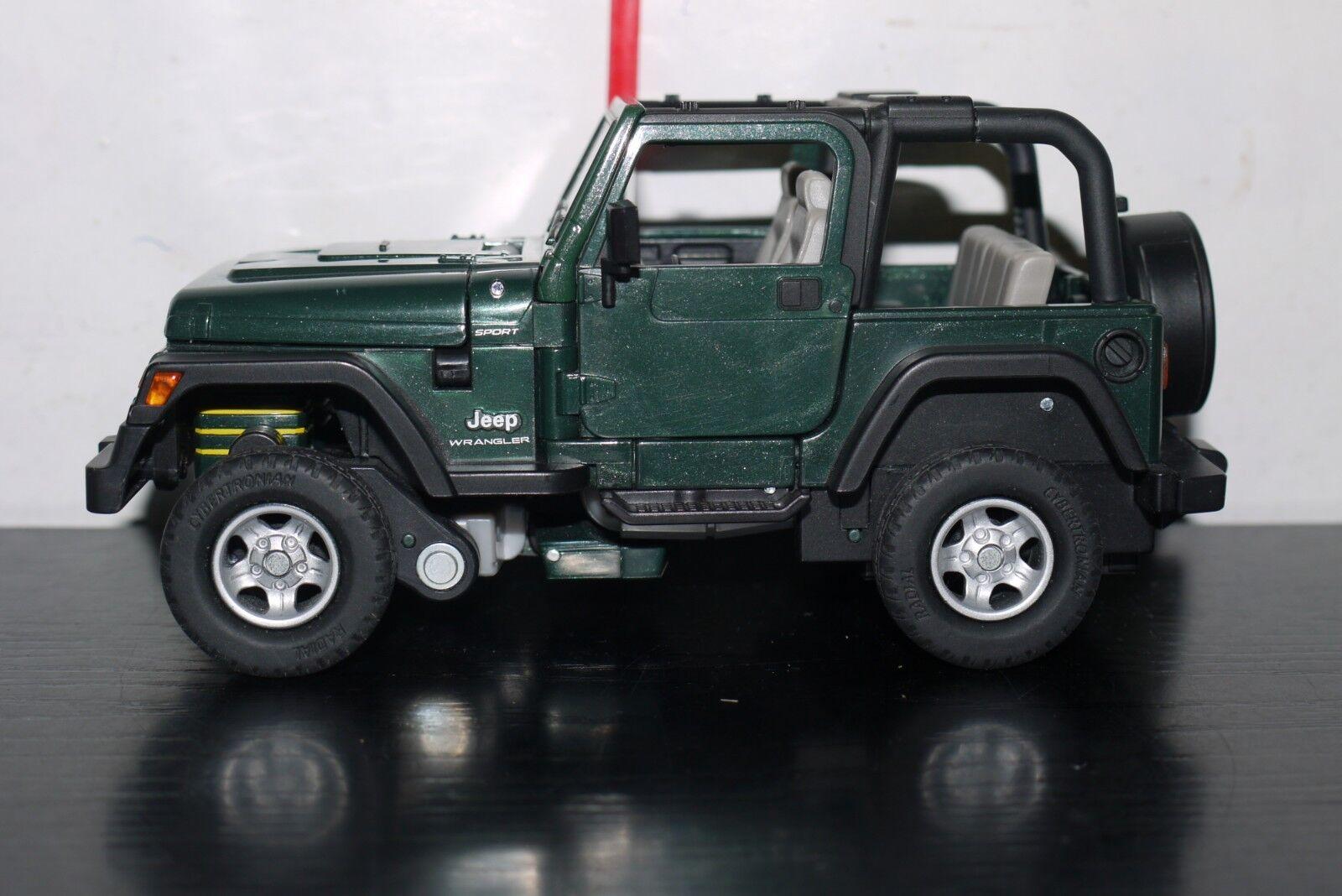 Hound Jeep Wrangler FIGURE Alternators 100% complete Transformers