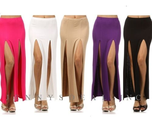 Fashion Slit~ Ankle Long Skirt Sexy S M High Length Hot Maxi L Popular Eq6HgWzw