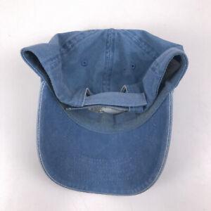 Florida great white shark hat dad cap wash blue hbx103