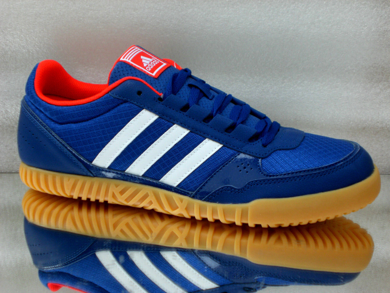ADIDAS Rocco Giangi Freizeit Turn / Laufschuhe Sneakers Unisex blau Q21388 Neu