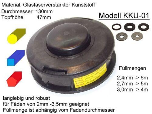 Cabezal de hilo adecuado para Stihl FS 70 C-e universal-Automatik mähkopf para motorsen