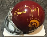 USC Trojans MARQUISE LEE signed Autographed Mini Helmet