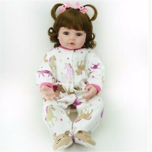 22 Cute Handmade Vinyl Reborn Toddler Dolls Sweet Girl Doll Clothes Ebay