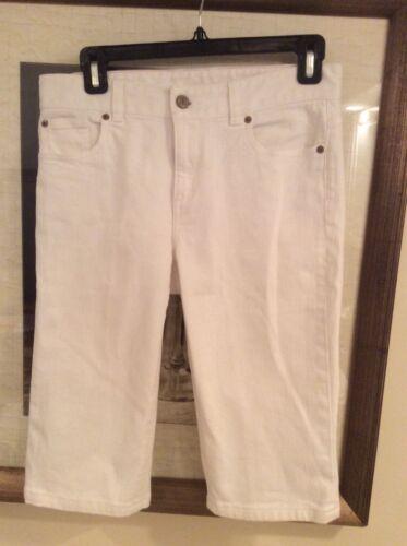 Bermuda Sz donna 4 Lilly Pulitzer Shorts Euc bianca principale linea fBawOq