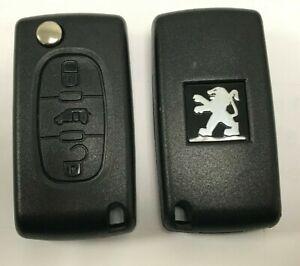 FSK-Cle-Telecommande-Complete-Peugeot-PARTNER-EXPERT-CE0523-433mhz-3-boutons