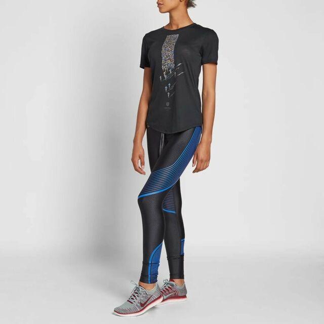 Women's Nike Gyakuso Uncovered Running Leggings Sz S New 856259 010