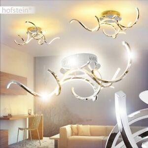 LED Decken Leuchten Luxus Flur Beleuchtung Wellen Wohn Schlaf Raum Verstellbar