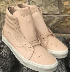 d5b62c8c22 New VANS Sk8 Hi Reissue Zip Veggie Tan Leather Men s Size 12