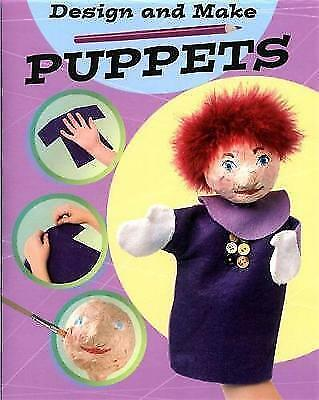 Hodge, Susie, Puppets (Design and Make), Very Good Book