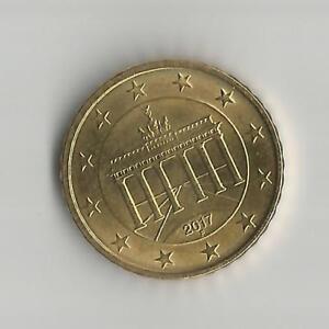 pièce de monnaie 10 ct  € atelier F Allemagne 2017 TB