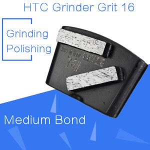 Details about Diamond Concrete Grinding Segment Trapezoid Metal Scraper HTC  Grinder Grit 16