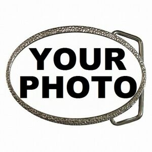 Belt Buckle Custom Personalized Picture Photo Logo
