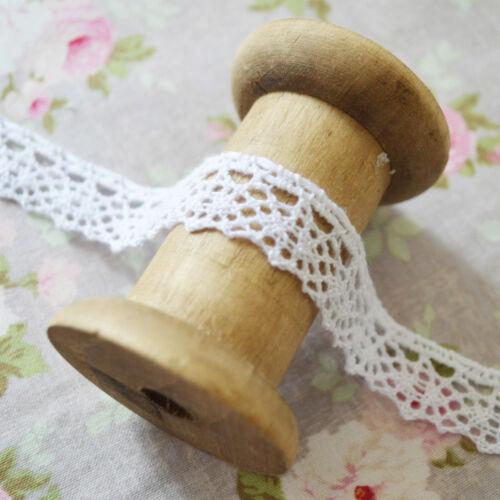 Vintage Style Lace Trim Crochet Ivory White Cream Wedding Sewing Bridal Ribbon