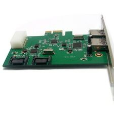 Combo USB 3.0 + SATA III 6Gbps, v2.0 PCI Express, x1 Slot Controller Karte