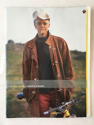 Vintage 2001 GARY FISHER BMX Bicycle Catalog
