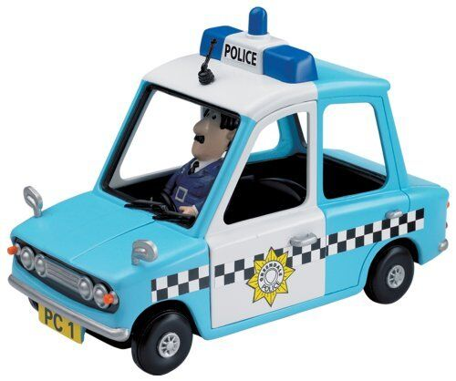 Postman Pat Friction voiture de police /& PC Selby