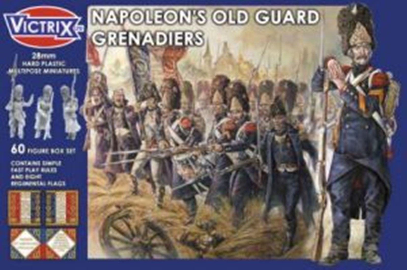 NEW VICTRIX MINIATURES NAPOLEON'S OLD GUARD GRENADIERS COLLECTIBLES GAME VX0009