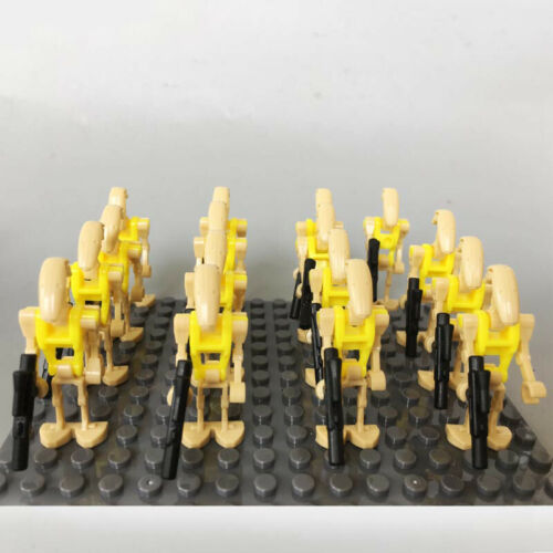 20 X Fit LEGO COMPATIBLE STAR WARS BATTLE DROID MINI FIGURES ARMY NEW