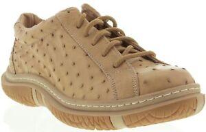 Hommes de en sable d'autruche véritable Sneaker cuir Boy Chaussures véritable peau Cow rqrxznFwR