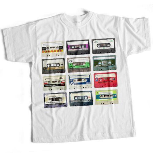 Cassettes Rétro Old Skool Années 80 Classique drôle homme Eighties Film Movie Music