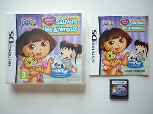 Dora-amp-ses-Amis-sauvons-les-animaux-Jeu-Video-Nintendo-DS