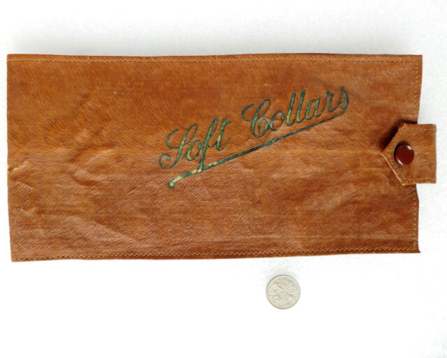 "Vintage collar case for soft shirt collars Art Deco 1930s boys girls ladies 8.5"""