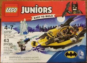"""New* Lego JUNIORS #10737 """"Batman Vs. Mr. Freeze"""" Building Toy Lot# EB28"""