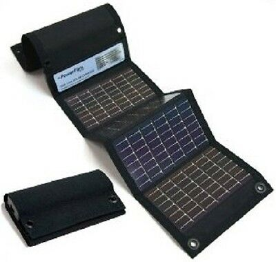 NEW PowerFilm USB+AA Portable Foldable Solar Panel Device & Battery Charger