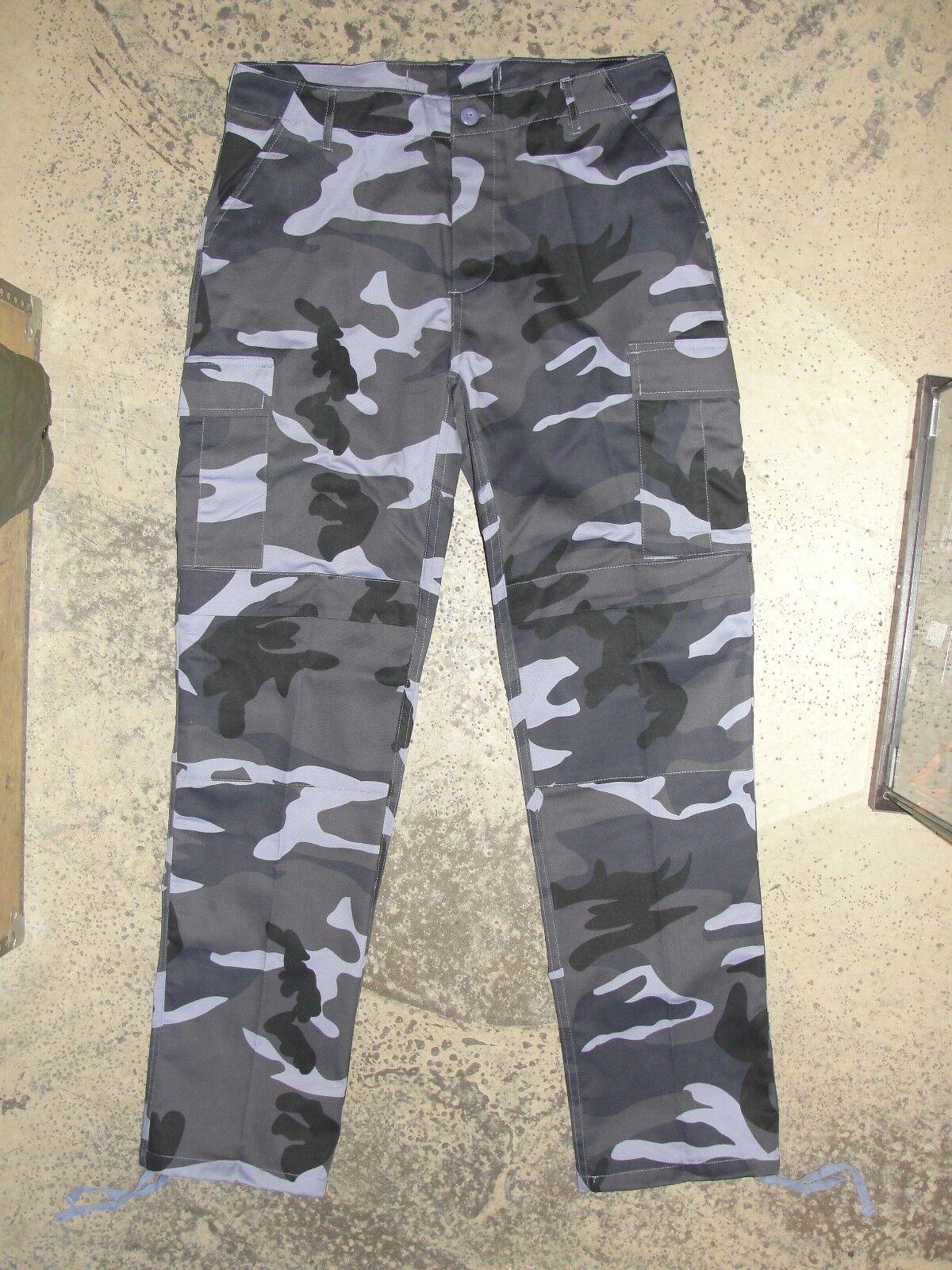 Pantalon BDU US M65 color camo Sky bluee size 38