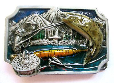Gürtelschnalle Angeln Buckle Angelsport Fishing  Angler