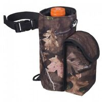 Tough-1 Bottle Holder/cell Phone Combo Pouch In Fun Prints - Tough Timber -