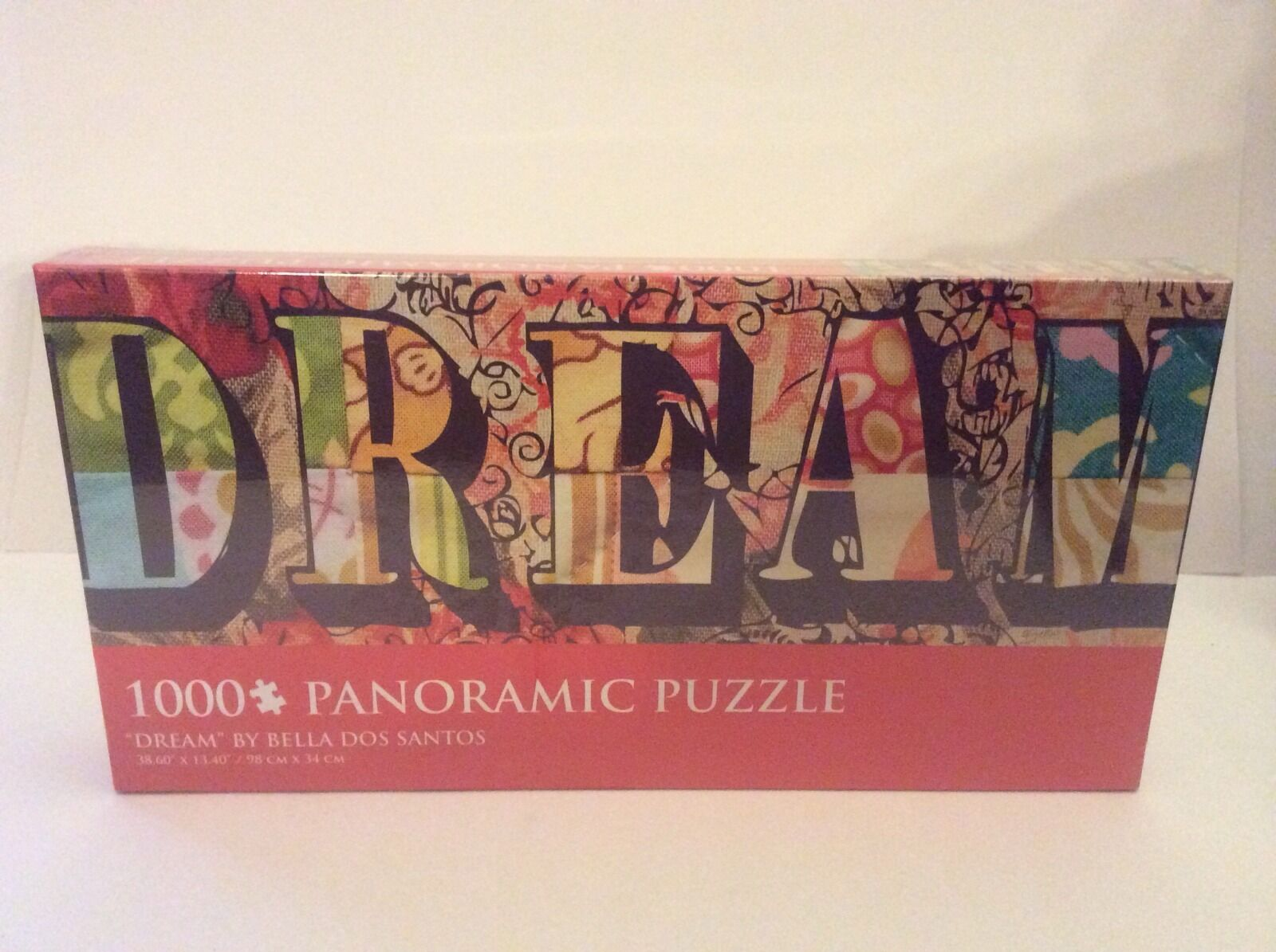 DREAM BY BELLA DOS SANTOS 1000 piece Panoramic Puzzle