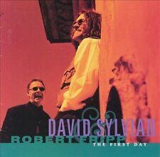 David Sylvian & Robert Fripp / The First Day (LIKE NW CD) Ingrid Chavez, T. Gunn