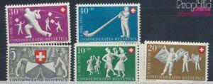 Schweiz-555-559-postfrisch-1951-Pro-Patria-7387784