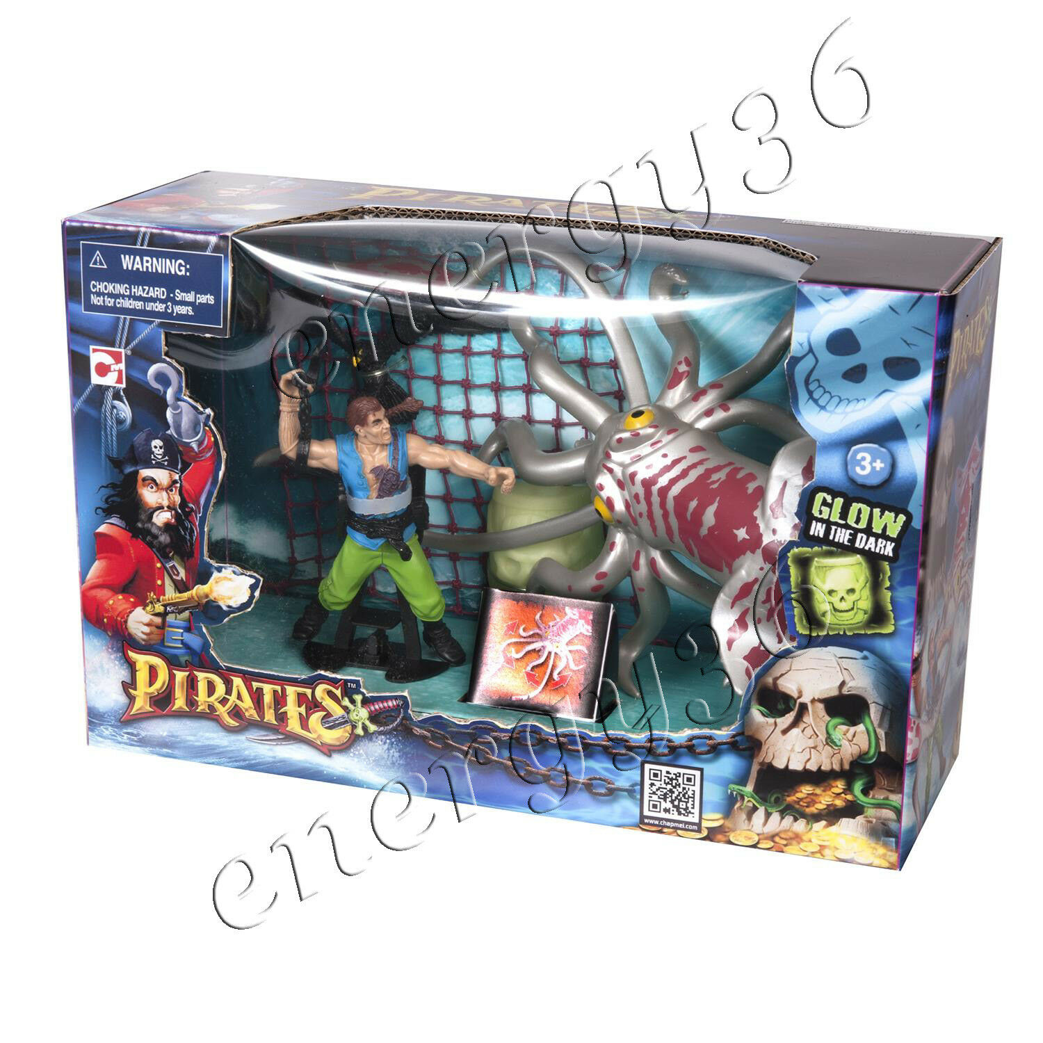 Game set CHAP MEI   Pirates  The Kraken Trap  for boys 3+