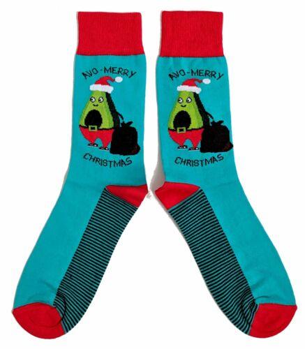 Homme AVO-Joyeux Noël avocat chaussettes UK 6-11//EUR 39-45//US 7-12