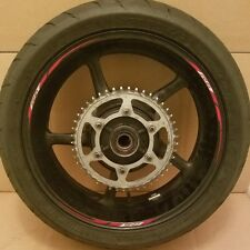 09-16 Yamaha R6 Rear Wheel Rim
