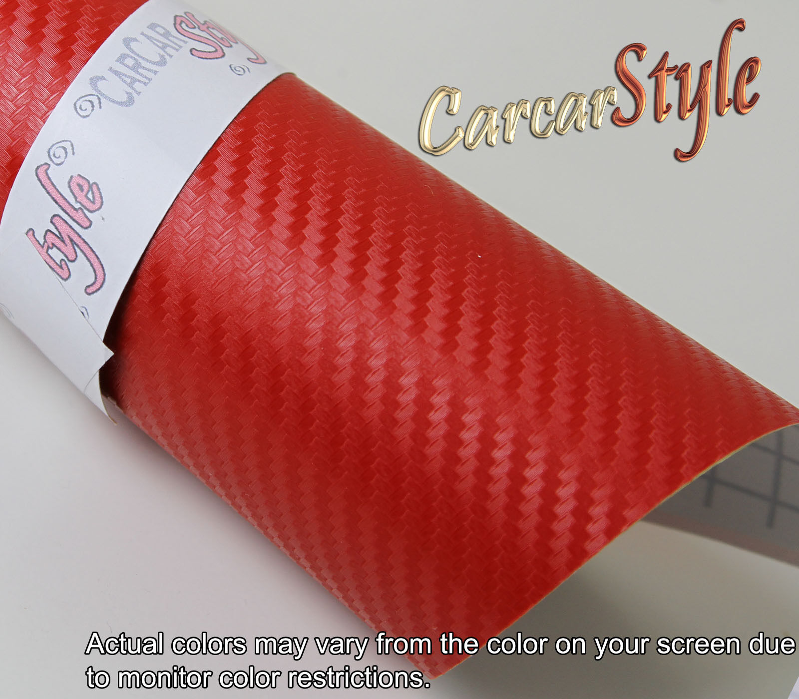 Autocollant Vinyle Fibre Fibre Fibre Carbone Texturé 3D A4 200x300mm Tout couleur Sans Bulle 2e2a50