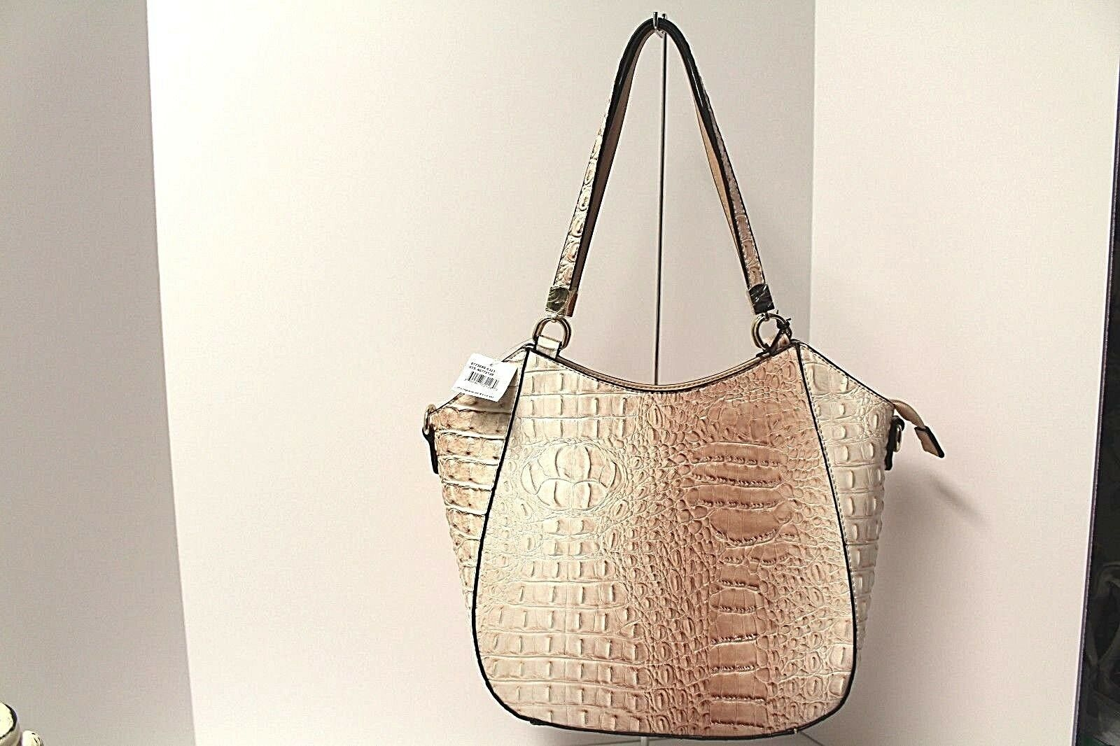 066ab111cf7a La Diva Satchel Cross Body Bag Purse Italian Design Croc-embossed ...