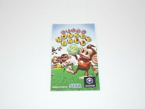 Super-Monkey-Ball-2-Gamecube-Manual-Only-Instructions-Booklet-Instruction