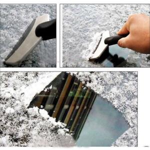 Eiskratzer-Rostfreier-Stahl-Schneeschieber-Eisschaufel-Auto-Eisschaber-Universal