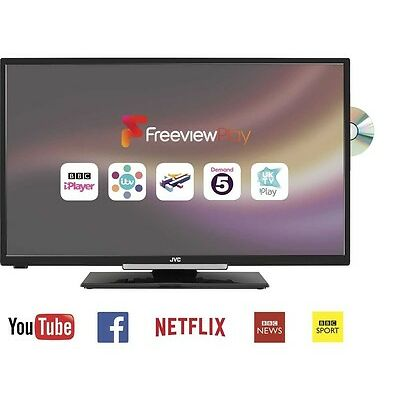 """JVC LT-32C675 32"""" Smart LED TV with Built-in DVD Player"""